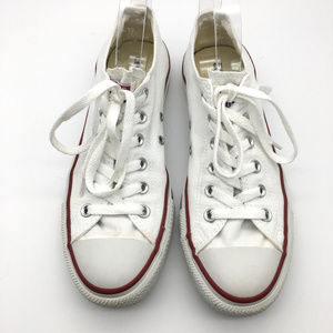 Converse all star white low tops size womens 9
